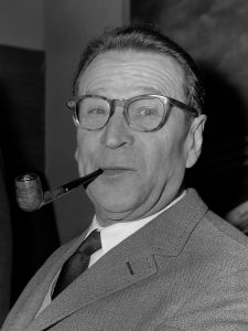 Photo of Georges Simenon from 1965