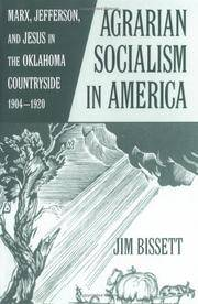 Agrarian Socialism in America, by Jim Bissett
