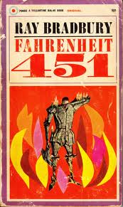 """""""The magic is only in what books say, how they stitched the patches of the universe together into one garment for us."""" ― Ray Bradbury, Fahrenheit 451"""