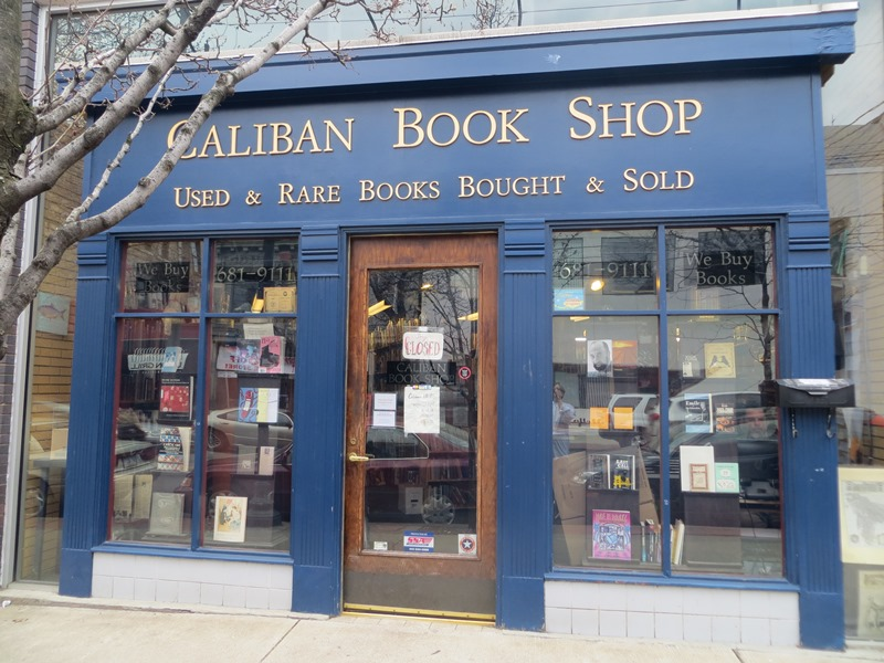 Caliban Book Shop in Pittsburgh, PA