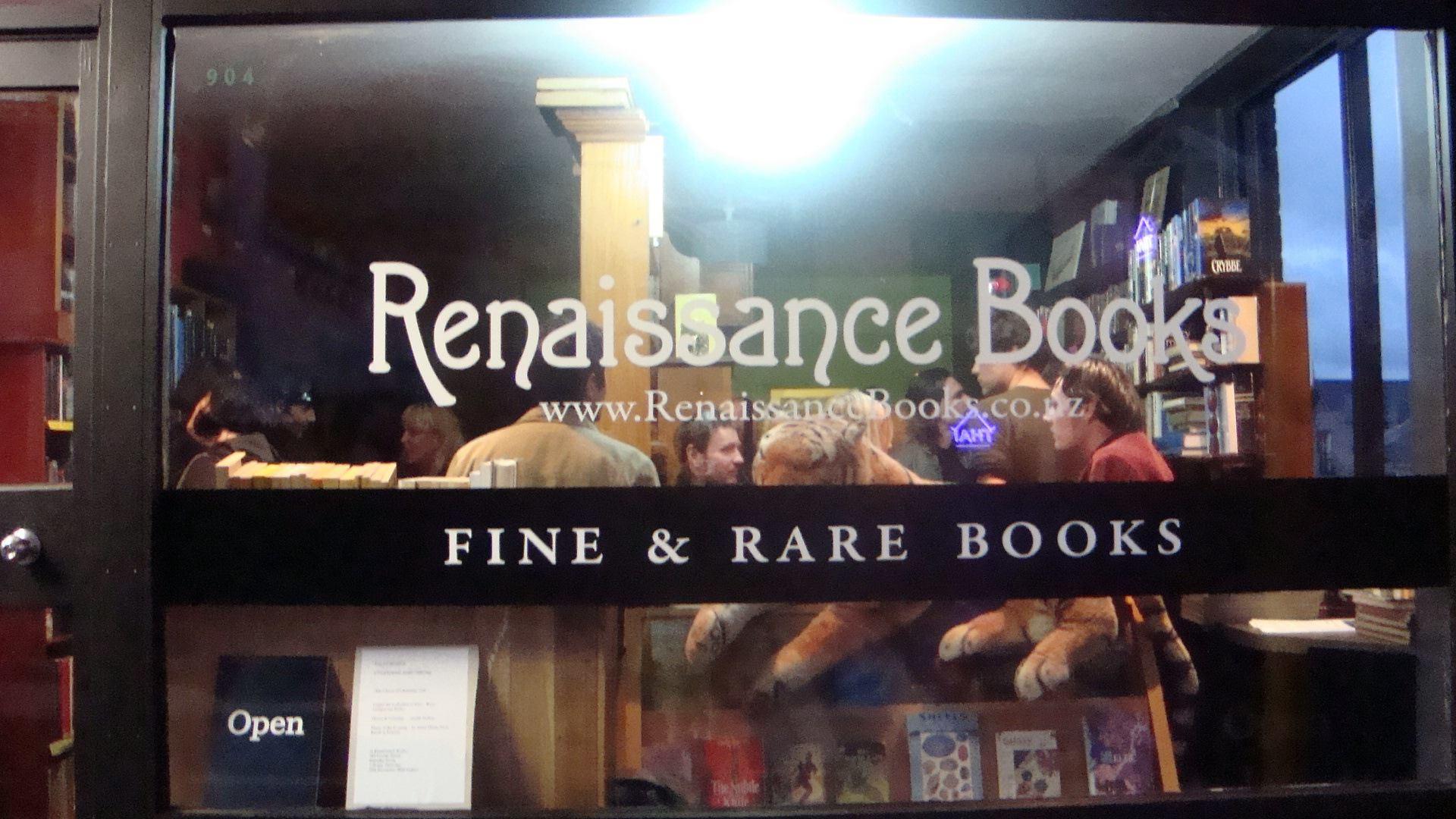 Picture of Renaissance Books' storefront