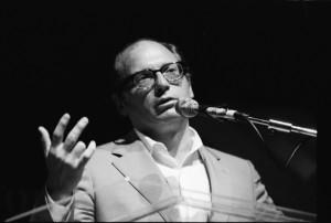 Oscar Hijuelos at the Miami Book Fair International 1993