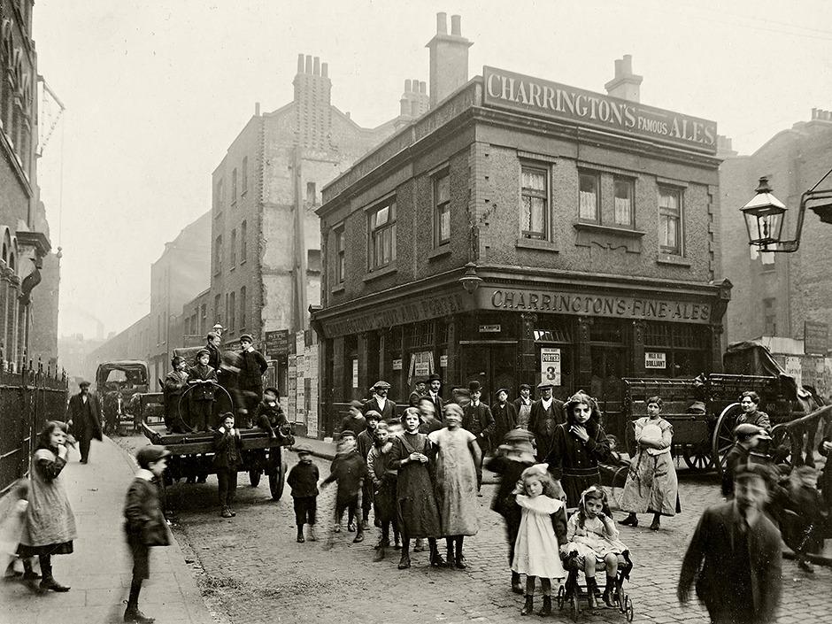 Spitalfields in April 1912 by CA Mathew