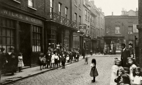 Spitalfields in April 1912 by photographer CA Mathew