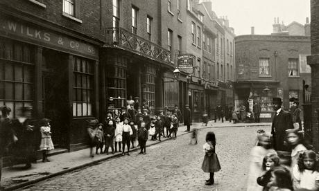 Spitalfields in April 1912 by photographer CA Mathew