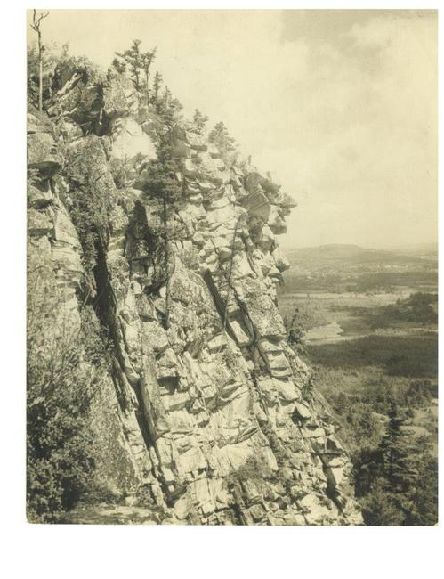 Monument Mountain, where Melville and Hawthorne first toasted their friendship. © Berkshires Trustees of Reservations.