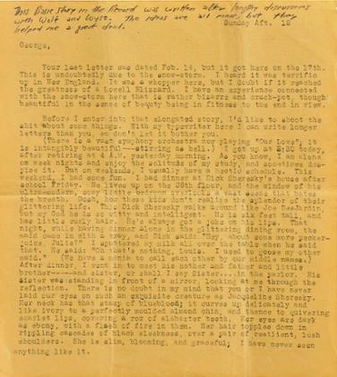 kerouac letter