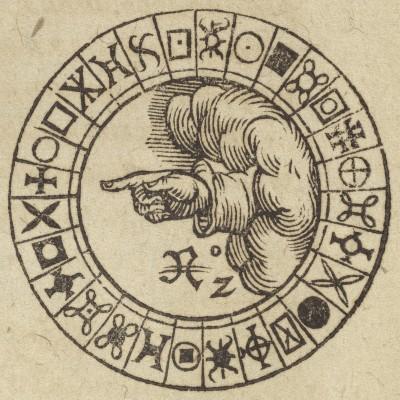 Detail. Giambattista della Porta. De furtivis literarum notis. 1591. Folger Shakespeare Library.