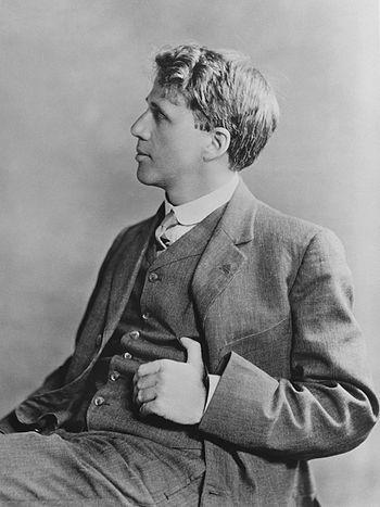 Robert Frost, 1913. (Photo credit: Wikipedia)