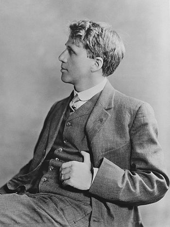 Robert Frost, 1913. (Photo credit: Wikipedia)