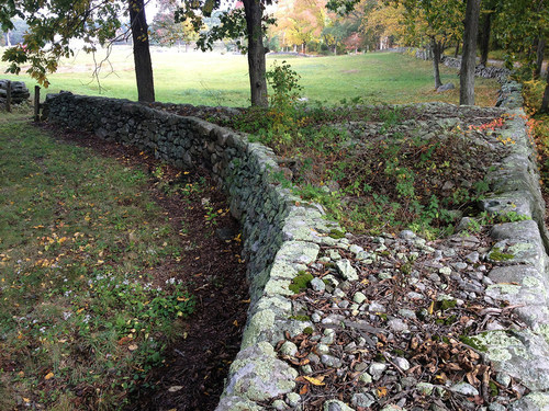 American Stonecraft Mending Wall Day 1