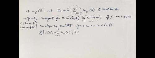 Alan Turing manuscript