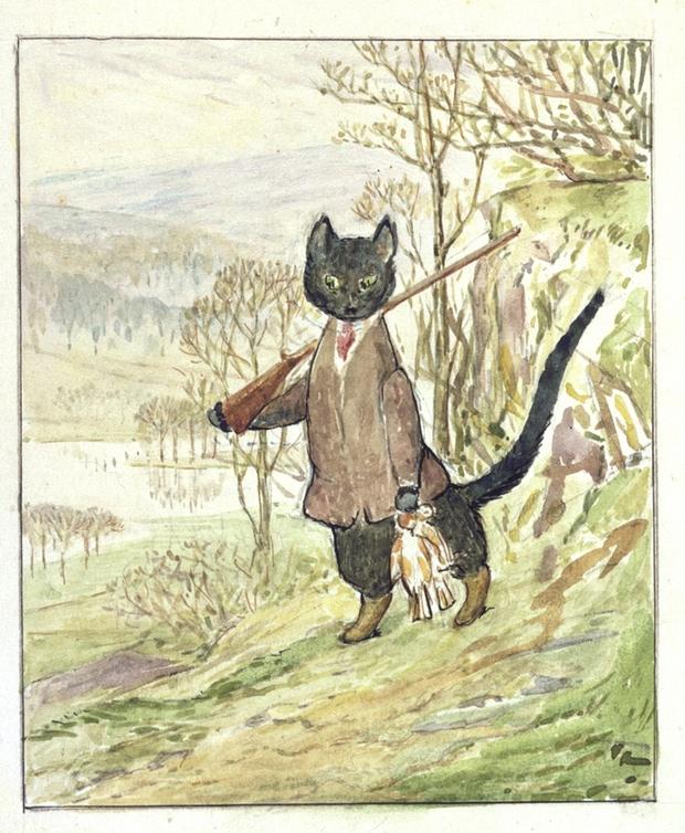 New Beatrix Potter tale uncovered - via Rare Finds on Biblio.com