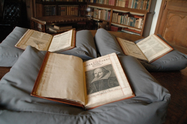 First Folio found in Scotland, as seen on Biblio.com