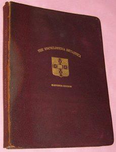 encyclopaedia britannica, eleventh edition