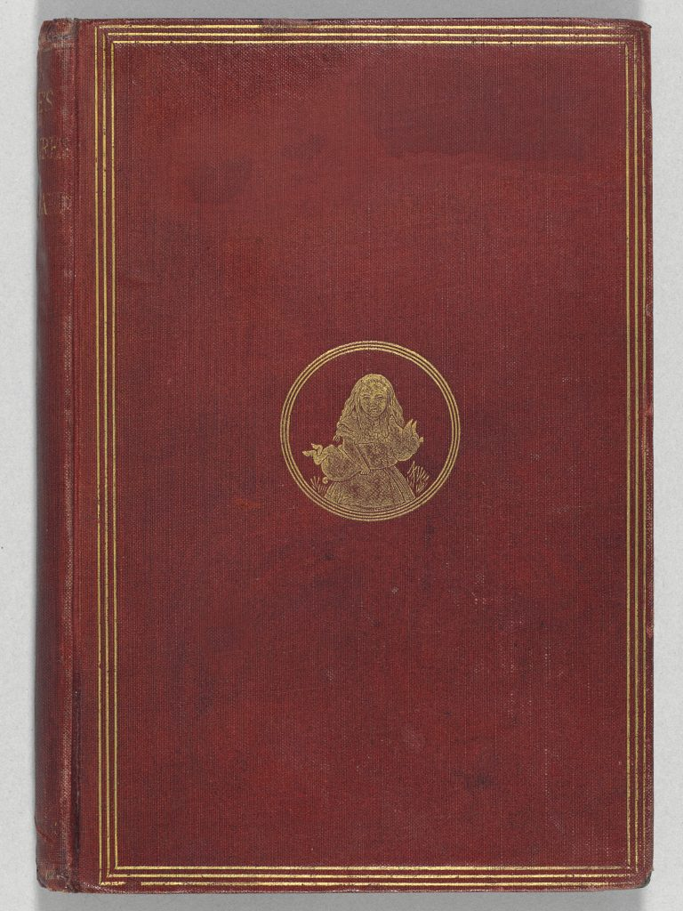 Dodgson, Charles Lutwidge ('Lewis Carroll'), Alice's Adventures in Wonderland. London: [The Clarendon Press for] Macmillan, 1865. 42 wood-engraved illustrations by the Dalziel brothers after John Tenniel. Original publisher's red cloth decorated in gilt, original endpapers with Burn bindery ticket on rear pastedown. Estimate: $2,000,000-3,000,000. Credit: Christie's Images LTD.