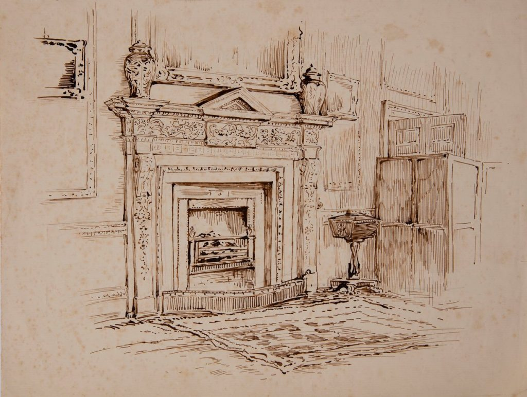 Beatrix Potter illustration [Image from the National Trust]