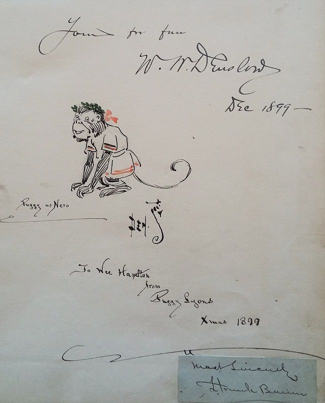 Father Goose [Signed by W. W. Denslow and L. Frank Baum]