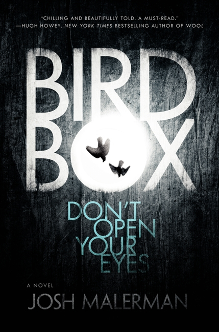 The cover of the first edition of Bird Box by Josh Malerman.